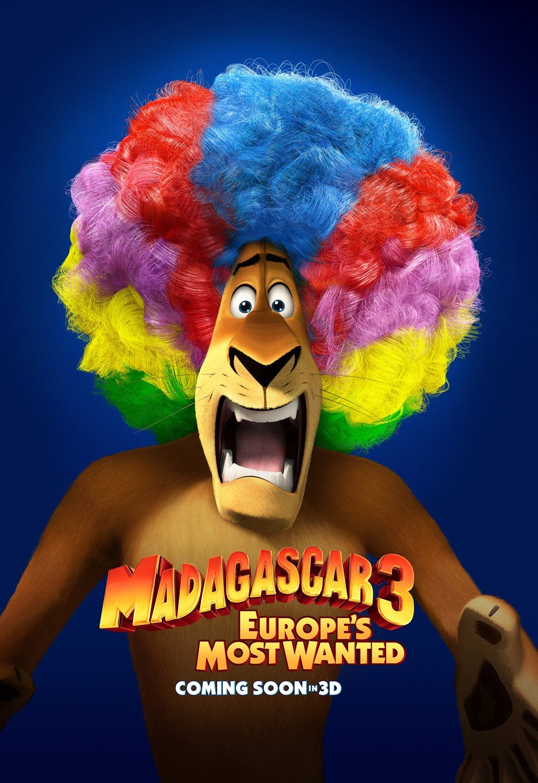 Madagaskar 3 2012 Plakaty Fdb