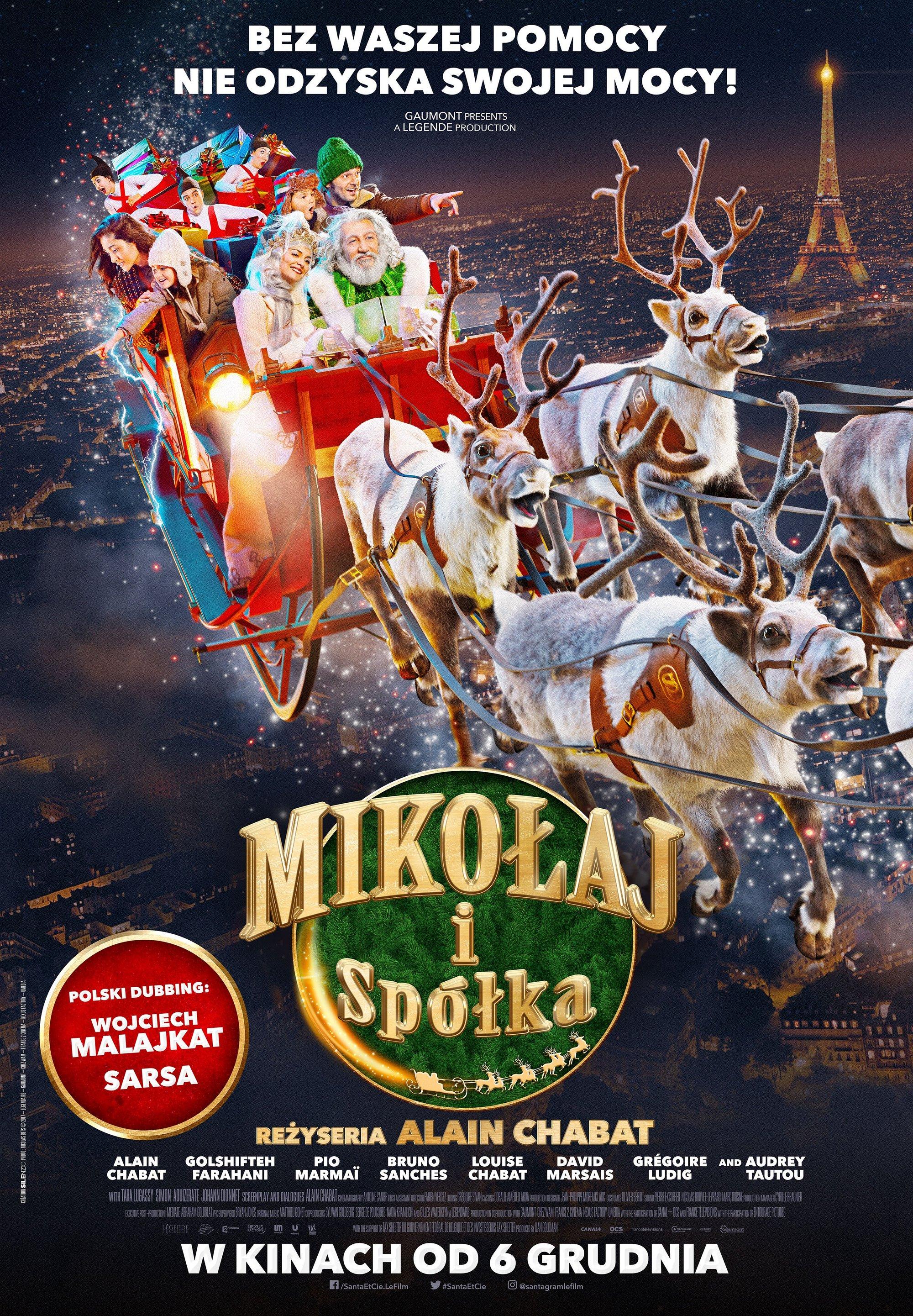 Mikołaj I Spółka 2017 Plakaty Fdb