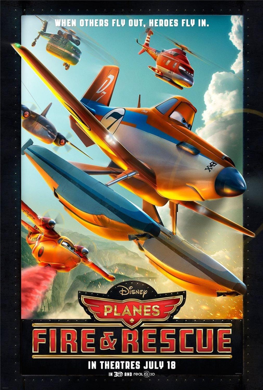 Samoloty 2 2014 Plakaty Fdb