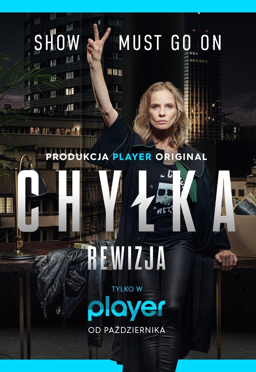 Chyłka Rewizja na TVN Player - plakat